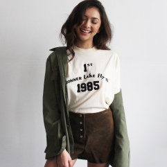 army-shirt-and-suede-shorts